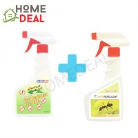 PESSO ANT REPELLENT 500ML + KLEENSO PEST REPELLENT 500ML (Pesso蚂蚁驱避剂 + Kleenso害虫驱避剂)
